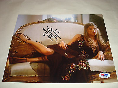 Fergie Signed 8x10 Photo PSA/DNA COA Autographed Black Eyed Peas a