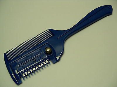 Horse Pony Shave Thinning Razor COMB Easier Safer Touch up Grooming Tool Large