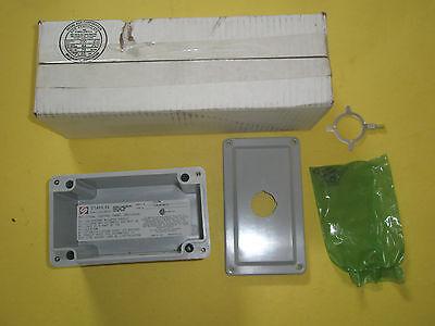 New Stahlin Cf1pb Non-metallic Push Button Enclosure Nema Type 1 3r 4x 6p 12