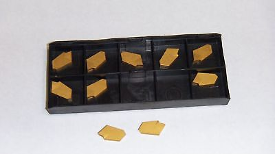 New 10pcs Gtn-3 Tin Coated Carbide Inserts