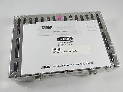 Instrument Cassette Purple Small Signature Series 10 Im5106 Hu Friedy