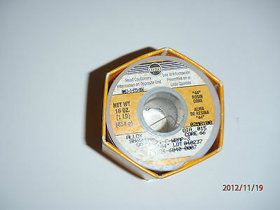 Kester 24-6040-0007 Sn60 Pb40 Flux 44 Core 66 Solder Wire .015 Dia.
