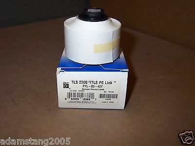 New Brady Ptl-23-427 Tls2200tls Pc Link Portable Thermal Labels Roll Of 100