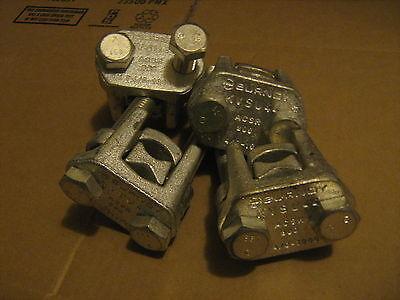 Connectors set of (4) Burndy KVSU44