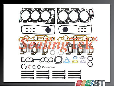 Fit Toyota 3.0L V6 3VZE Engine Cylinder Head Gasket Set w/ Bolts Kit 3VZ-E motor
