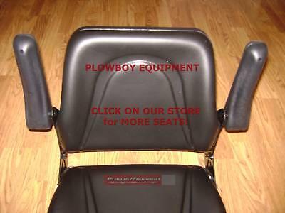 Tractor Seat Adjustable Tracks Allis Bobcat Case Ih Backhoe Skidloader Dozer Mm