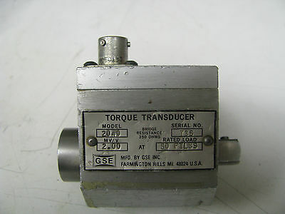 Gse Socket Wrench Torque Transducer 50 Ft Lbs - Gse7
