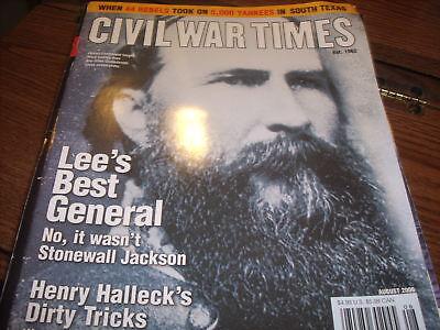 Civil War Times Lee's Best General Aug 2006