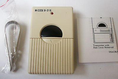 Access 9 Dip Pin Digits Garage and Gate Door Opener Remote Control Transmitter ()