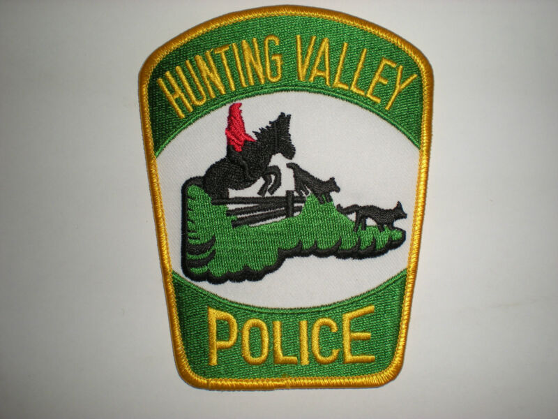 HUNTING VALLEY, OHIO POLICE DEPARTMENT PATCH