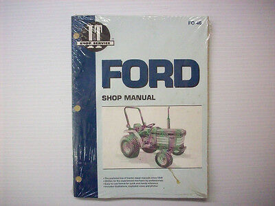 New It Manual Ford 1120 1220 1320 1520 1720 1920 2120  Fo-46 - Pm