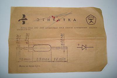 D9v Ussr Germanium Detector Diode Rare Lot Of 40 Nos