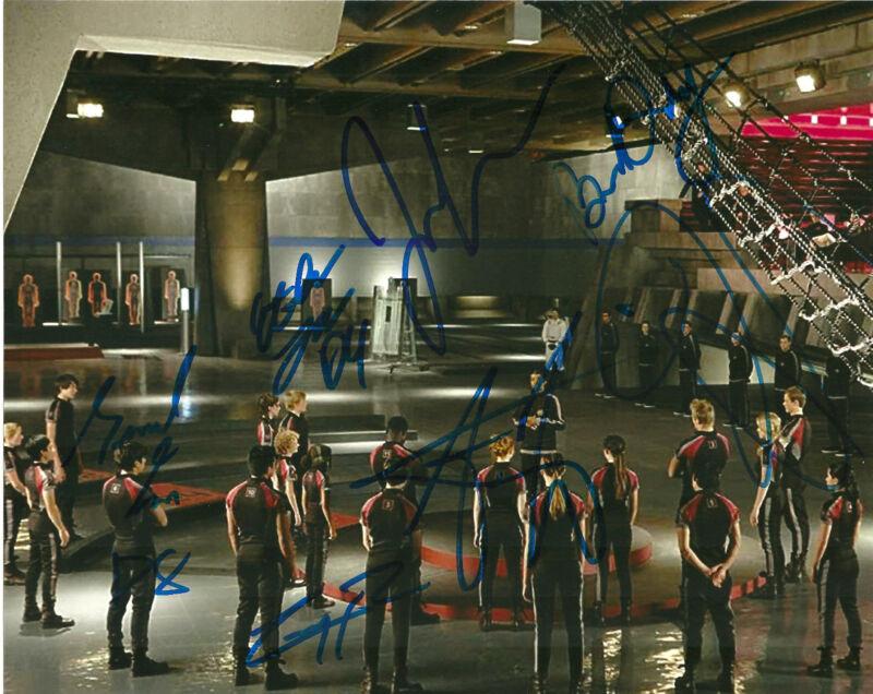Tributes Emerson Jennifer Lawrence Alex Ludwig Signed Autographed 8x10 Photo COA
