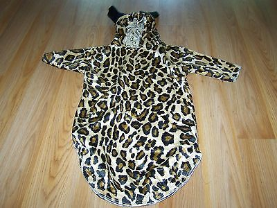 Infant Baby Size 0-3 Months Cheetah Leopard Cat Halloween Costume Bunting EUC](0-3 Month Halloween Costumes)