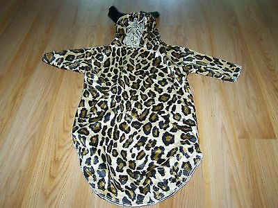 Infant Baby Size 0-3 Months Cheetah Leopard Cat Halloween Costume Bunting EUC - Infant Halloween Costume 0-3 Months