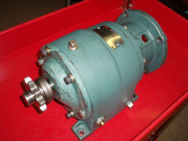 DODGE SPEED REDUCER GEARHEAD  #M85724T-CH   RATIO:14.0:1   1466 IN-LBS   USED
