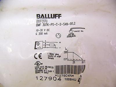 Balluff Bmf 307k-ps-c-2-s49-002 Magnetic Field Sensor New