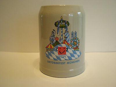 VINTAGE MUNICH OKTOBERFEST GERMAN STEIN / .5L GERZ GERMANY