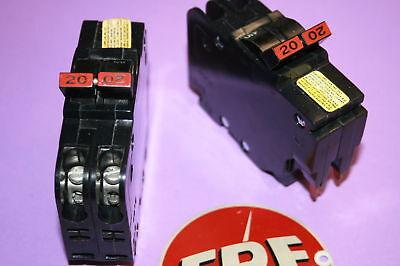 2 Pole 20 Amp Breaker (FEDERAL PACIFIC 20 AMP 2-POLE  BREAKER  TYPE NC)