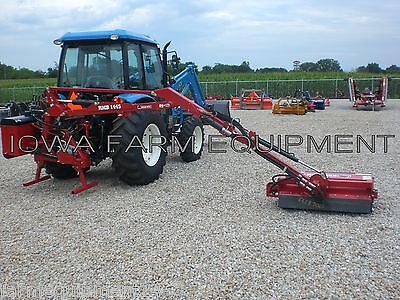 Flail Boom Mower Bush Hog Rmb1445-1 Tractor 3-ptpto Powered39 Cut14 Reach