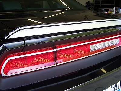 09 10 DODGE CHALLENGER SPOILER OVERLAY DECAL Pick Color