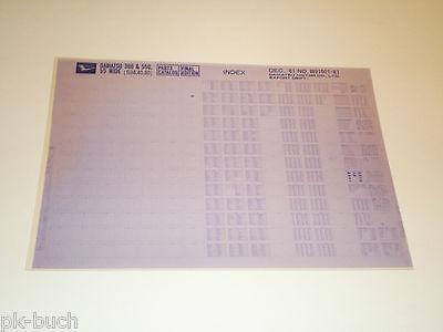 Microfich Catálogo de Piezas Repuesto Daihatsu Hijet Wide 55 360/550 Stand segunda mano  Embacar hacia Argentina