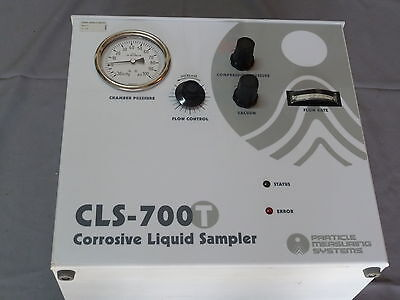Particle Measuring Systems Cls-700t Corrosive Liquid Sampler Particle Counter