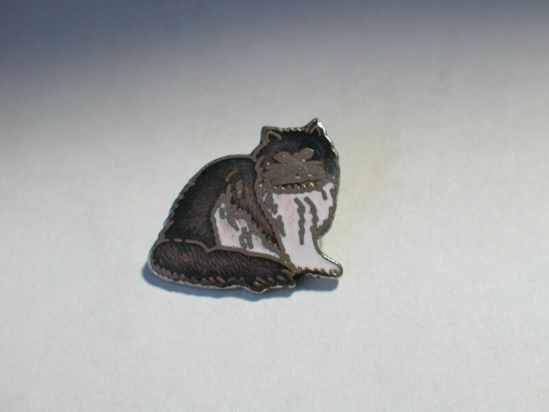 Vintage Cat American Persian Cat Pin