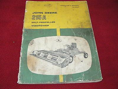 John Deere 215a Windrower | John Deere Windrowers: John Deere