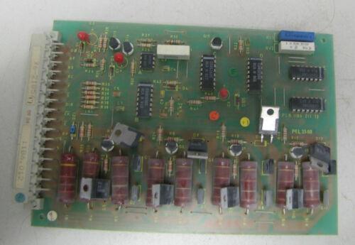 PARKER CIRCUIT BOARD PCB: 1186-011-13 118601113 PEL: 3588 PEL3588
