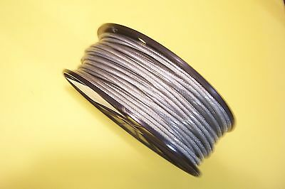 Vinyl Coated Stainless Steel Wire Rope Cable 316 - 14 7x19 50 Ft Coil