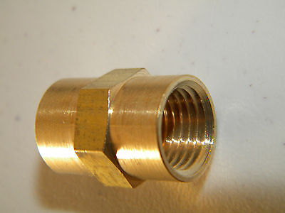 Carpet Cleaning - Brass 14 Solution Hose Connector