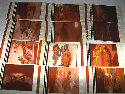 CREEPSHOW Film Cell Lot of 12 - collectible compliments movie dvd poster