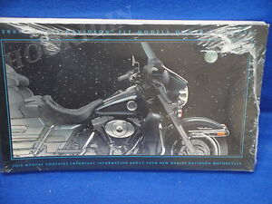 2001 Harley touring road king electra glide road glide street flt owners manual9