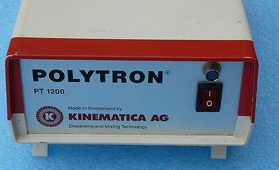Kinematica Polytron Pt 1200 C Handheld Homogenizer Power Supply