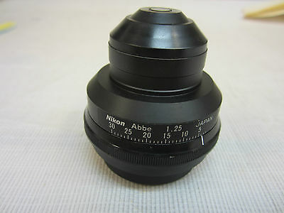 Nikon Condenser Abbe 1.25
