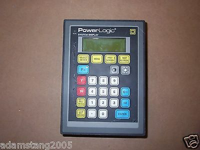 Square D Sd-100 Class 3050 Type Sd100x1 Power Logic System Display