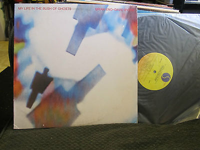 my life in the bush of ghosts lp brian eno david byrne talking heads roxy music!