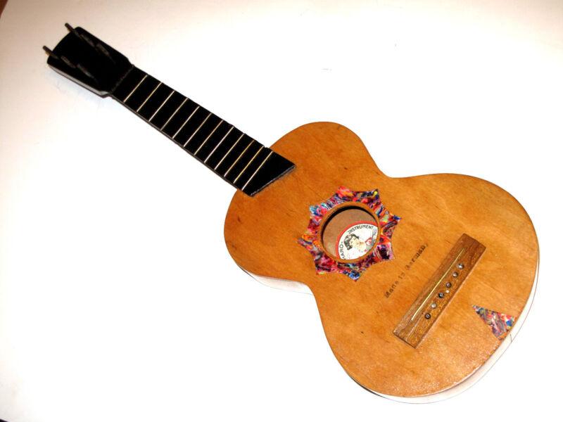Very Rare Antique HARO INSTRUMENTS Made In Germany 6 STRING Soprano Uke UKULELE