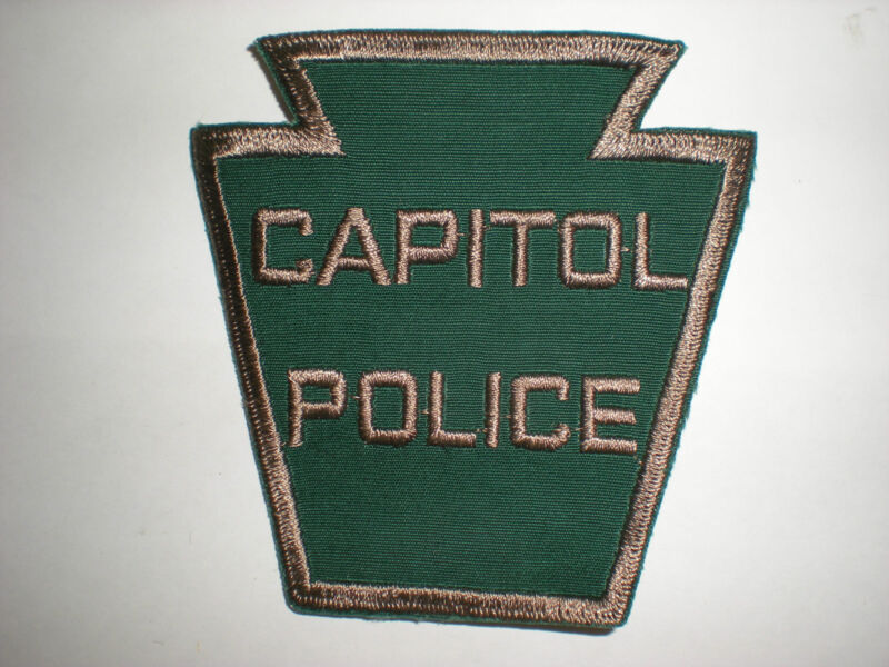 CAPITOL POLICE, PENNSYLVANIA POLICE DEPARTMENT PATCH