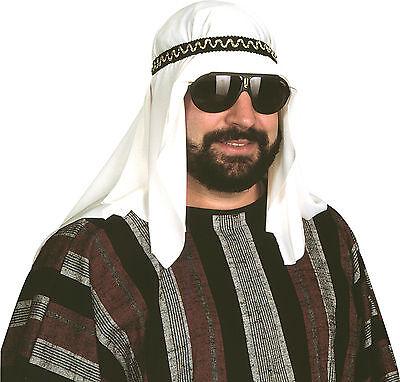 SHEIK COSTUME HEADPIECE DESERT PRINCE ARAB ARABIAN SULTAN HAT HEADPIECE SHIEK](Desert Costume)