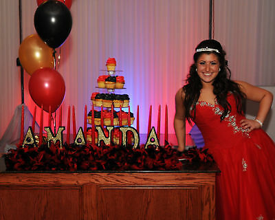 Sweet 16 Candelabra (Sweet 16 Candelabras with CANDLES)