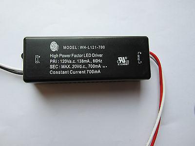 LED TRAFO 3-8 X 1 W 1W WATT HIGH POWER LED´S KONSTANTSTROMQUELLE 350mA