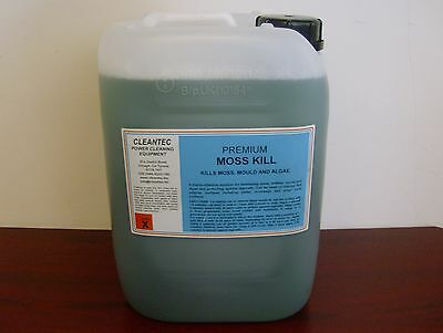 New 10 Litre Concentrate Moss Mould Mildew Algae Killer Interior and Exterior