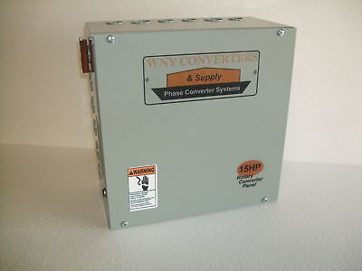 15 Hp phase converter control panel CONVERTER ROTARY RP15