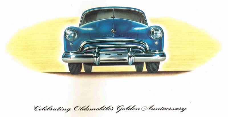 1948 Oldsmobile FUTURAMIC / 88 Brochure: ORIGINAL!  SCARCE!