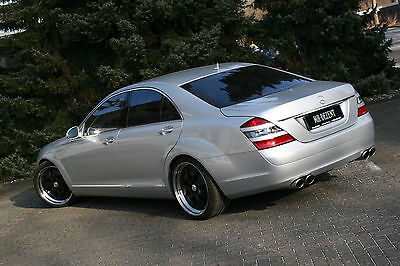 MH-DEZENT  Sportnachschalldämpfer   Sportauspuff  Mercedes S500   W221 AMG