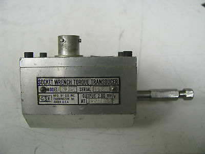 Gse Socket Wrench Torque Transducer 100 In Lbs - Gse11