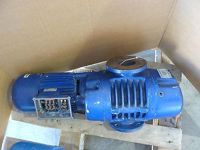 Leybold Ruvac Ws251b2 Vacuum Pump Cat Number 11722-3 W Emod Vuf 9072-100 Motor