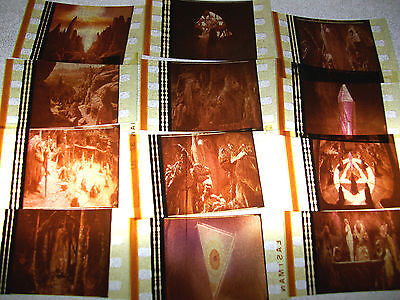 DARK CRYSTAL Film Cell Lot of 12 - collectible compliments movie dvd poster